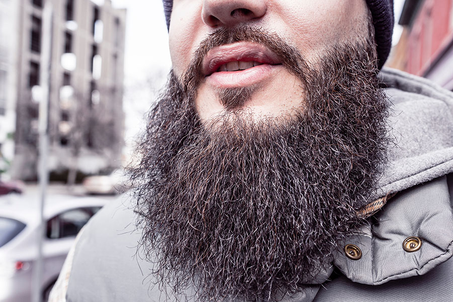 Natural Skin, Beard, and Hair Care for Men - beard shot